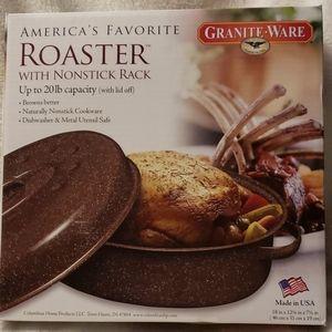 Granite-Ware 20# roaster #0591
